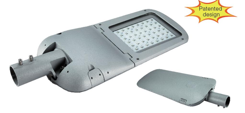 ENEC-Ouverture sans outils-LED STREET LIGHT-SUPERLINE 30W 60W 80W